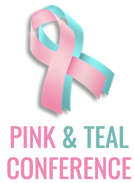Pink & Teal event logo